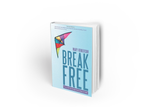 Hardcover Book MockUp break free